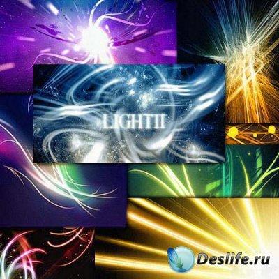 Кисти - абстрактные световые эффекты
