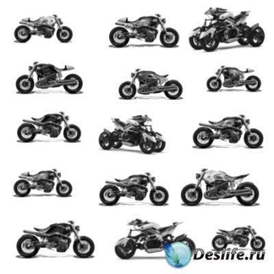 Кисти для фотошопа - Мотоциклы