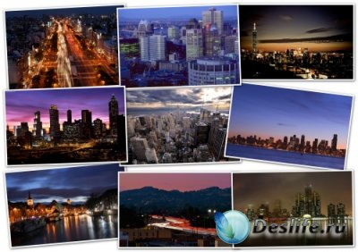 216 Обоин для рабочего стола - Города и страны (pack 1)