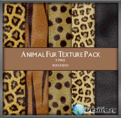 Текстуры для фотошопа  - Кожа животных / Animal Fur Texture