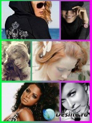 Коллекция аватаров с красивыми девушками