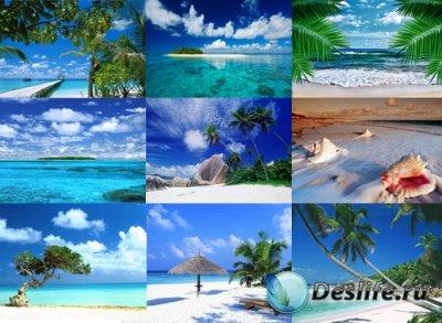 Фоны для фотошопа - Тропический рай