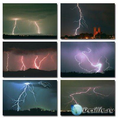 Набор профессионального клипарта Ride The Lightning (Молнии)