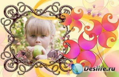 Рамка для фотошопа - Drop