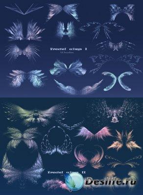 Fractal Wings I and II - Кисти для Фотошопа