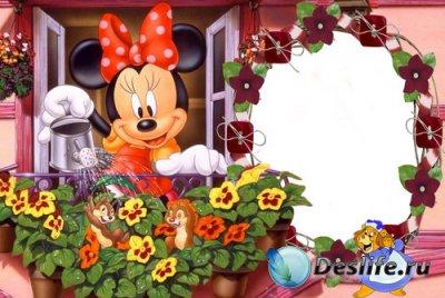 Рамка для фотошопа - Minnie Mouse
