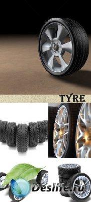 Stock Photo: (Шины) Tyre
