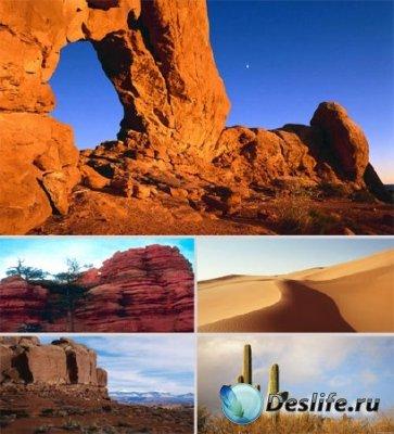 Обои для рабочего стола - Горы и пустыня