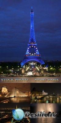 Stock Photo - Night Paris
