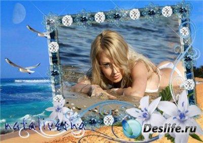 Рамка для фотошопа – На море