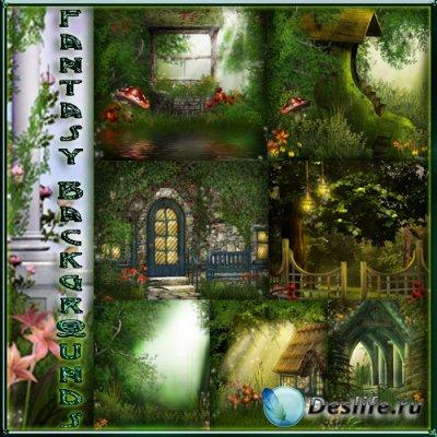 Фоны для фотошопа - Fantasy Backgrounds