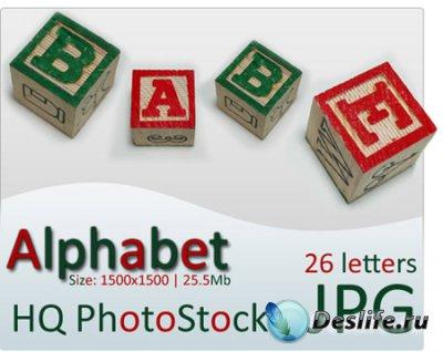 Алфавит - Детские кубики