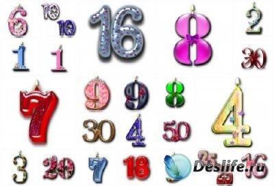 Великолепная подборка цифр ко дню рождения