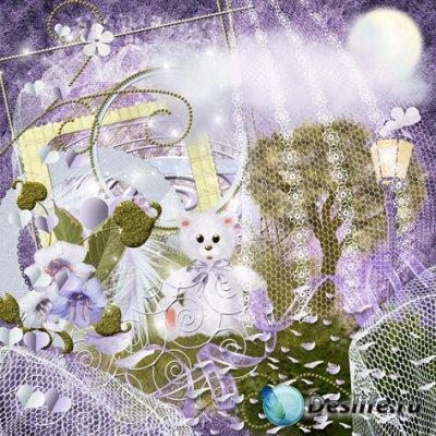 Скрап набор для фотомонтажа - Sweet dreams от Elena