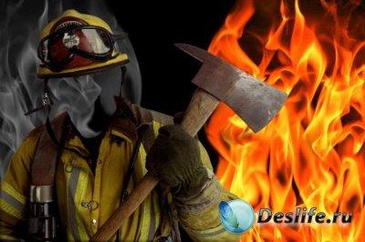 Костюм для фотошопа – Пожарник