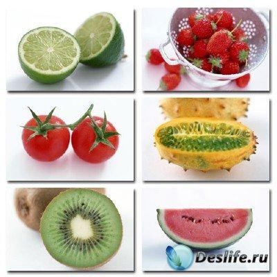 Набор профессионального клипарта Fruits & Vegetables (Фрукты и Овощи)