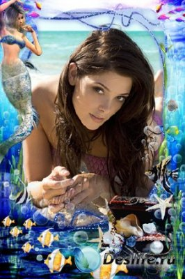 Рамка для фотошопа - Водный мир