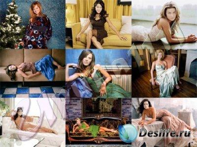 Костюмы для фотошопа - Девушки в вечерних платьях