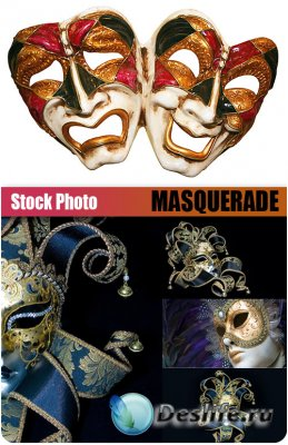 UHQ Stock Photo - Masquerade