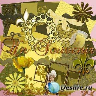 Скрап-набор для фотошопа – Un Souvenir