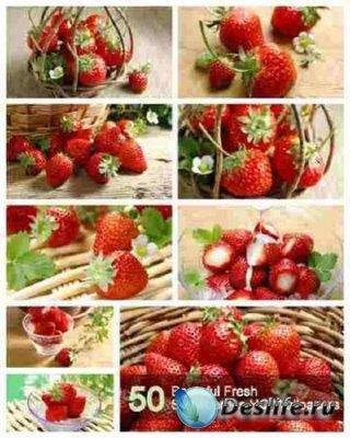 Fresh strawberries (Свежий земляника) - Обои для рабочего стола