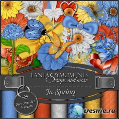 Скрап-набор - FM-In Spring