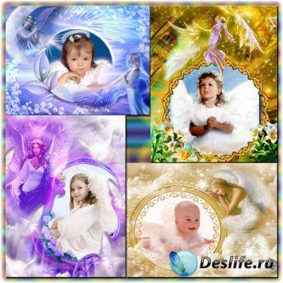 Рамки для фотошопа - Ангел хранитель