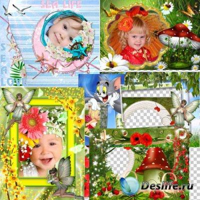 Красивые детские рамочки
