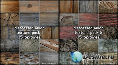 Texture Pack - Distressed Wood