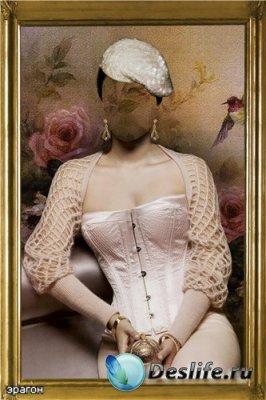 Женский костюм для фотошопа – Светская дама