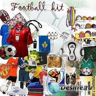 Скрап-набор - (Футбол) Football