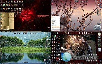 Оригинальные темы для Windows 7 (105 штук)