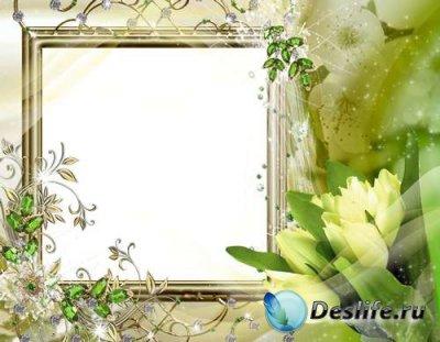 Рамка для фотошопа – Романтическая