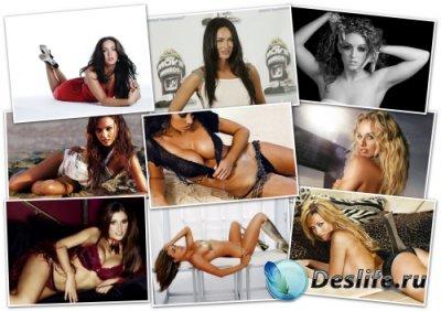Обои на рабочий стол: Девушки / Sexy Girls Wallpapers (Выпуск 1)
