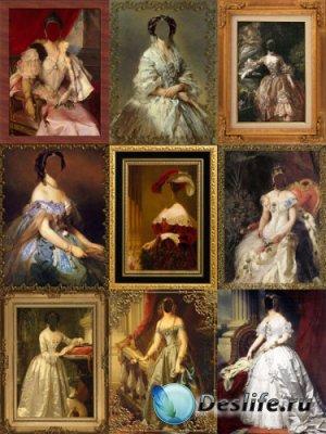Женские костюмы - Хочу в картину