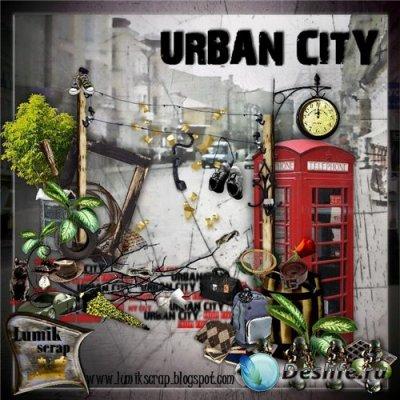 Скрап-набор для фотошопа - Urban City