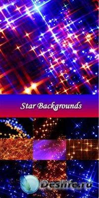 Фоны - Star Backgrounds / Сияющие звезды