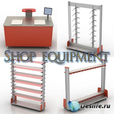 3D модели - Shop equipment
