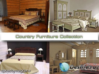 3D модели - Country Furniture