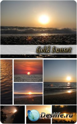 Подборка фотографий - Золотой закат