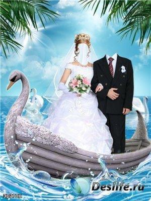 Парный костюм для фотошопа – Свадебное путешествие