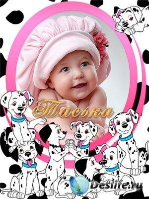 Рамки для фотошопа - Детская коллекция 2