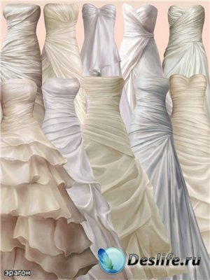 Женские платья для фотошопа – В пастельных тонах