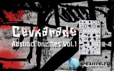 Кисти для Фотошопа - Cevkarade Abstract Brushes v1