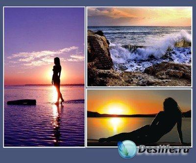 Красоты природы (подборка №8 - Закат на море)