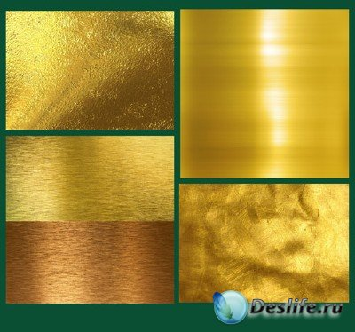 Золотые текстуры в высоком разрешении
