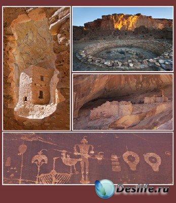 Вокруг света (подборка №9 - Руины и наскальные рисунки культуры Анасази)