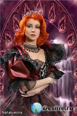 Женский костюм для фотошопа – Её Величество