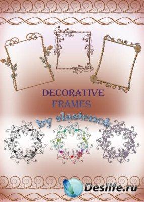 Декоративные рамки для фотошопа