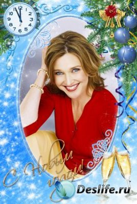 Рамка для фотошопа - С Новым годом!